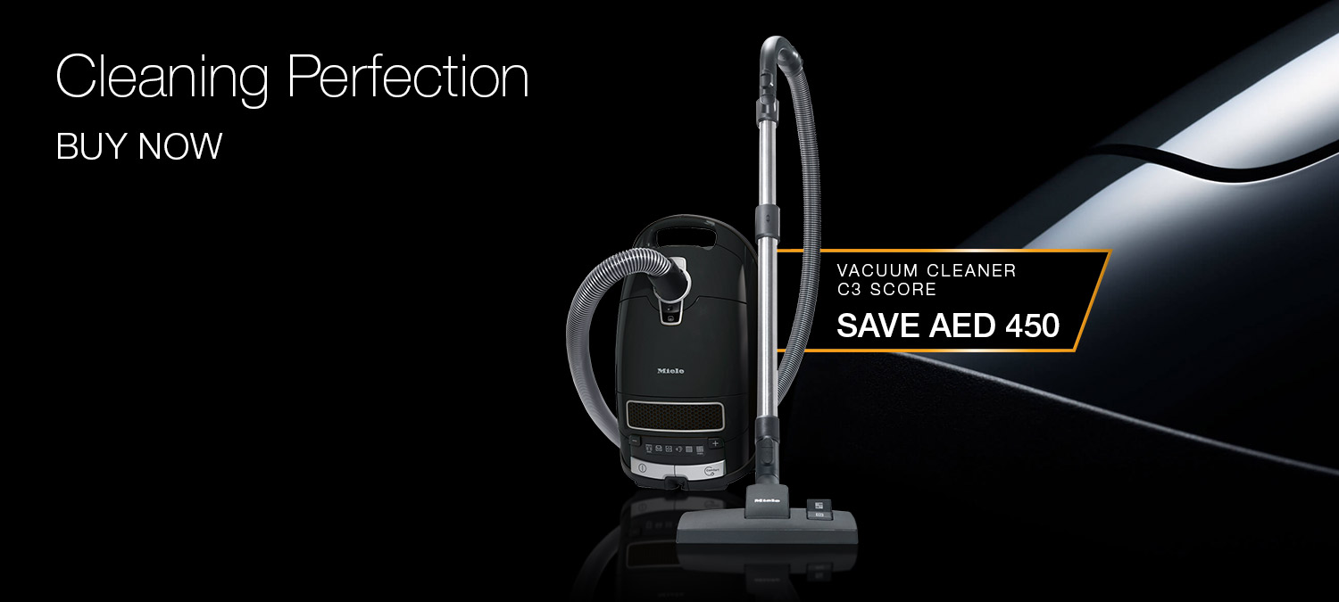 Cleaning Perfection - Save AED 450 on the Complete C3 Score vacuum cleaner