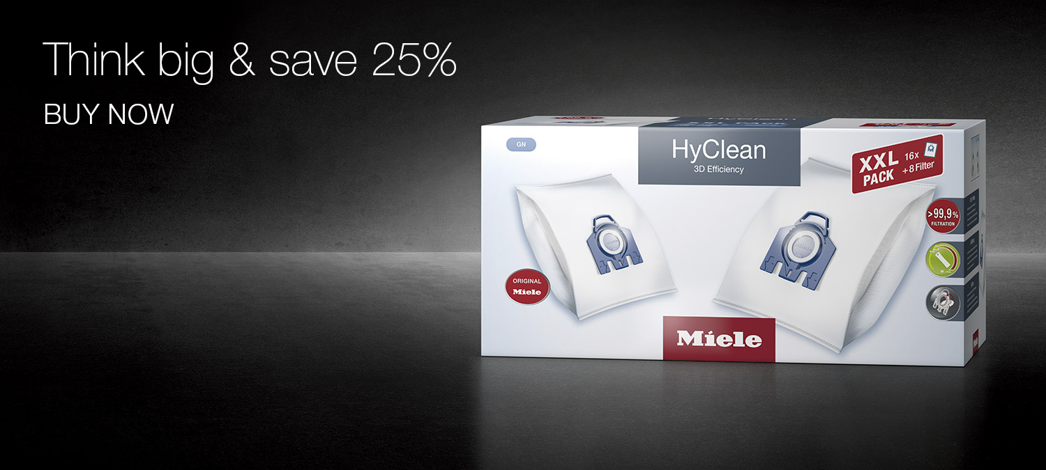 Think big & save 25% - HyClean XXL-Pack