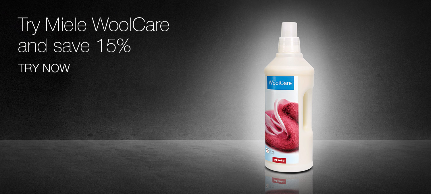 Try Miele WoolCare and save 15%